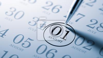 1.srpna napsané na kalendáři vám připomene významnou JMENOVÁNÍ