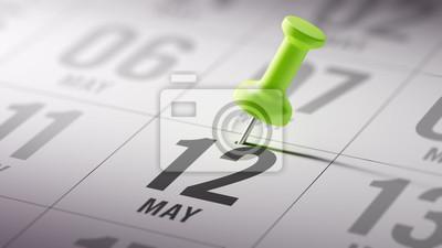 12. května napsané na kalendáři vám připomene významnou appointm