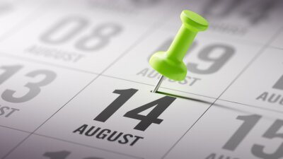 14.srpna napsané na kalendáři vám připomene významnou JMENOVÁNÍ