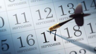 17.září napsané na kalendáři vám připomene významnou ap