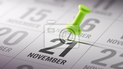 21.listopadu napsané na kalendáři vám připomene důležité aplikace