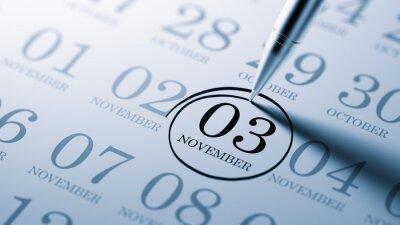 3.listopadu napsané na kalendáři vám připomene důležité aplikace