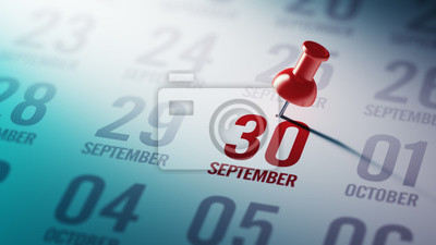 30.září napsané na kalendáři vám připomene významnou ap
