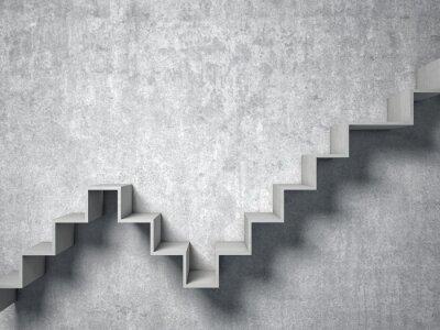 Fototapeta 3d abstraktní schodiště
