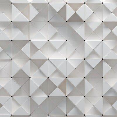 Fototapeta 3d ilustrace geometrickým vzorem