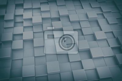 Fototapeta 3D kostky na pozadí