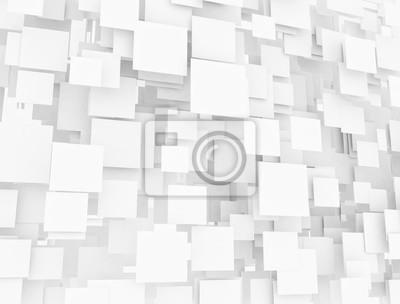 3D překryté čtvercové pozadí