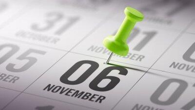 6.listopadu napsané na kalendáři vám připomene důležité aplikace