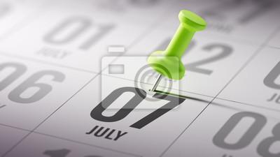 7.července napsané na kalendáři vám připomene důležité jmenovat