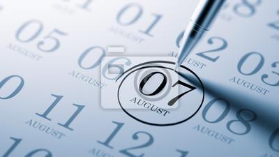 7.srpna napsané na kalendáři vám připomene významnou JMENOVÁNÍ