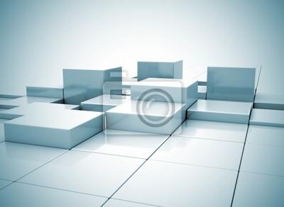 Abstract box pozadí