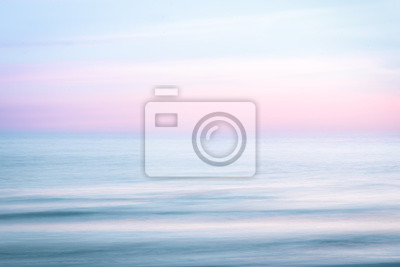 Fototapeta Abstract sunrise sky and  ocean nature background