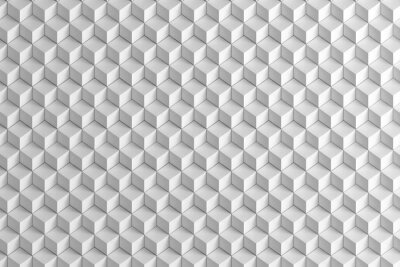 Fototapeta Abstrakt bílá políčka schodiště textury na pozadí 3d