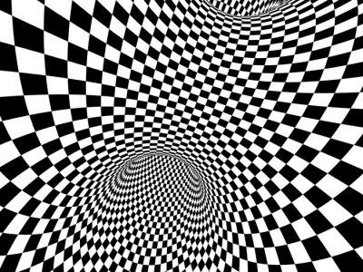 Fototapeta Abstrakt iluze
