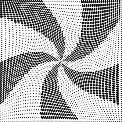 Fototapeta Abstrakt půltón dot vektor