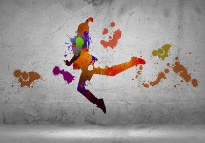 Fototapeta Abstrakt tanečník