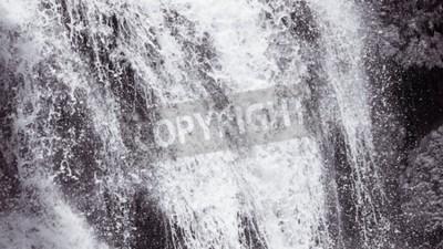 Fototapeta Abstrakt tvrdý vodopád textury na pozadí