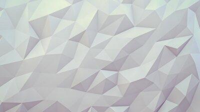 Fototapeta abstraktní 3d render pozadí. Techno trojúhelníkový low poly pozadí