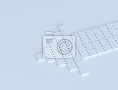 Fototapeta Abstraktní 3d šipka