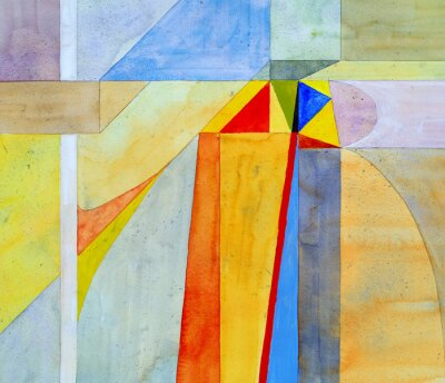 Fototapeta abstraktní akvarel