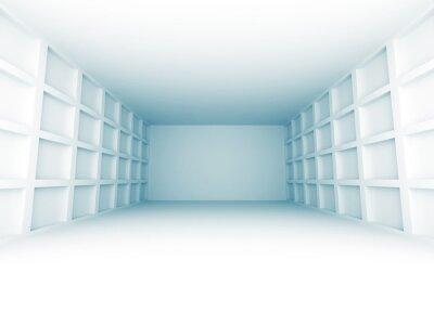 Fototapeta Abstraktní architektura design Room Pozadí