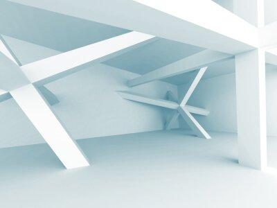 Fototapeta Abstraktní Architektura na pozadí. stavba Struktura