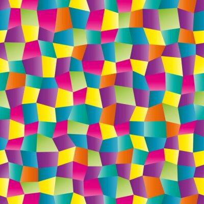 Fototapeta Abstraktní barevné geometrický vzor
