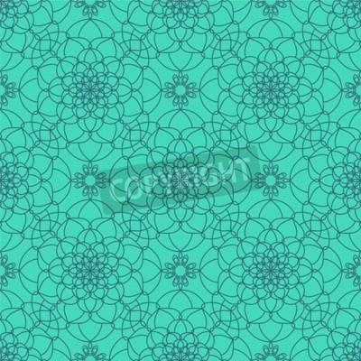 Fototapeta Abstraktní bezešvé vzor. Vintage Ornament Pattern. Etnické dekorativních prvků pro tisk a tkaniny, textilie a plátno textury nebo jakýkoli jiný druh designu.