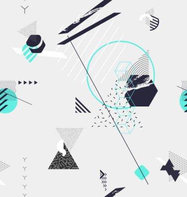 Fototapeta Abstraktní bezproblémové geometrické pozadí