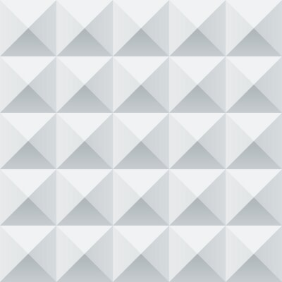 Fototapeta Abstraktní bílé a šedé geometrické čtverce bezešvé vzor