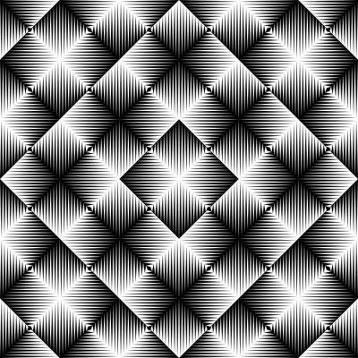 Fototapeta Abstraktní čtvercové pozadí. Bezproblémový geometrický vzor