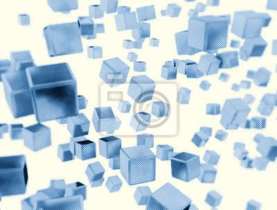 Fototapeta Abstraktní digitální designu