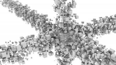 Fototapeta Abstraktní digitální pozadí
