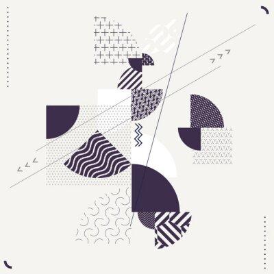 Fototapeta Abstraktní geometrické složení