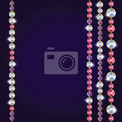 Fototapeta Abstraktní krásné diamantové pozadí
