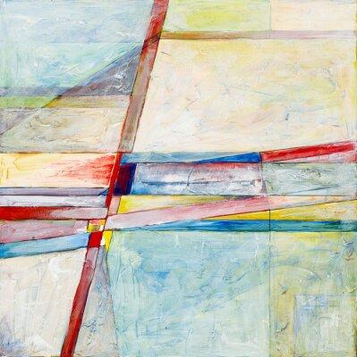 Fototapeta abstraktní malba