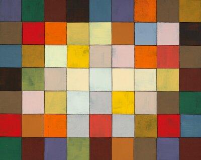 Fototapeta abstraktní malované koláž
