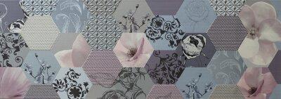 Fototapeta abstraktní mozaiky portugalský