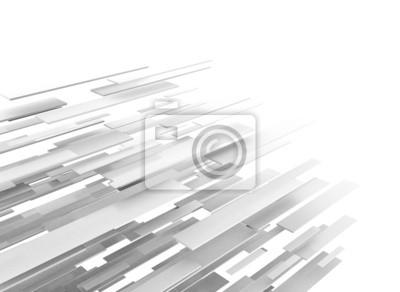 Fototapeta Abstraktní obchodní vědy nebo technologie na pozadí