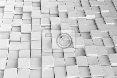 Fototapeta Abstraktní pozadí z 3d kostek