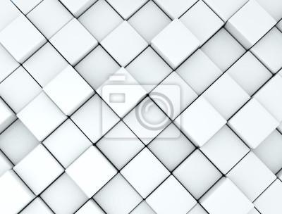 Fototapeta Abstraktní pozadí z 3d kostky