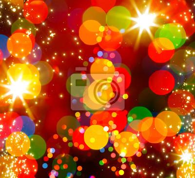 abstraktní vánoční strom světlé pozadí