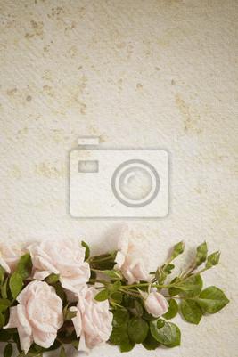 abstraktní vintage květina papírové pozadí