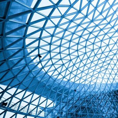 Fototapeta Abstraktní záběr moderní budovy