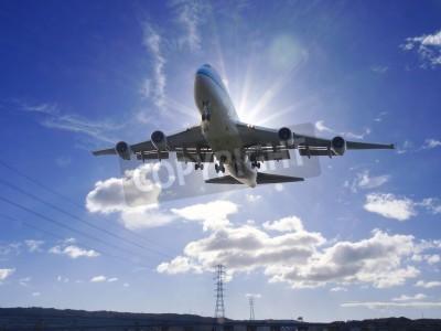 Fototapeta Airplane take off