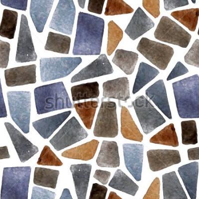 Fototapeta Akvarel čisté kamenné textury pro vaše návrhy