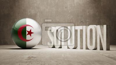 Alžírsko. Solution Concept.
