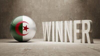 Alžírsko. Vítěz Concept.