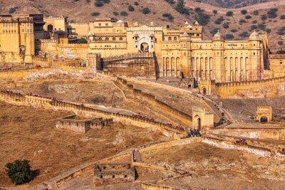 Fototapeta Amer Amber fort, Rajasthan, Indie