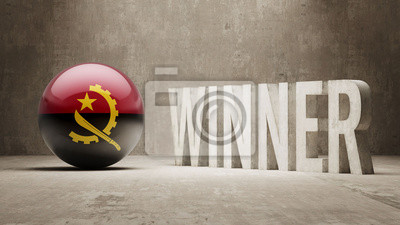 Angola. Vítěz Concept.